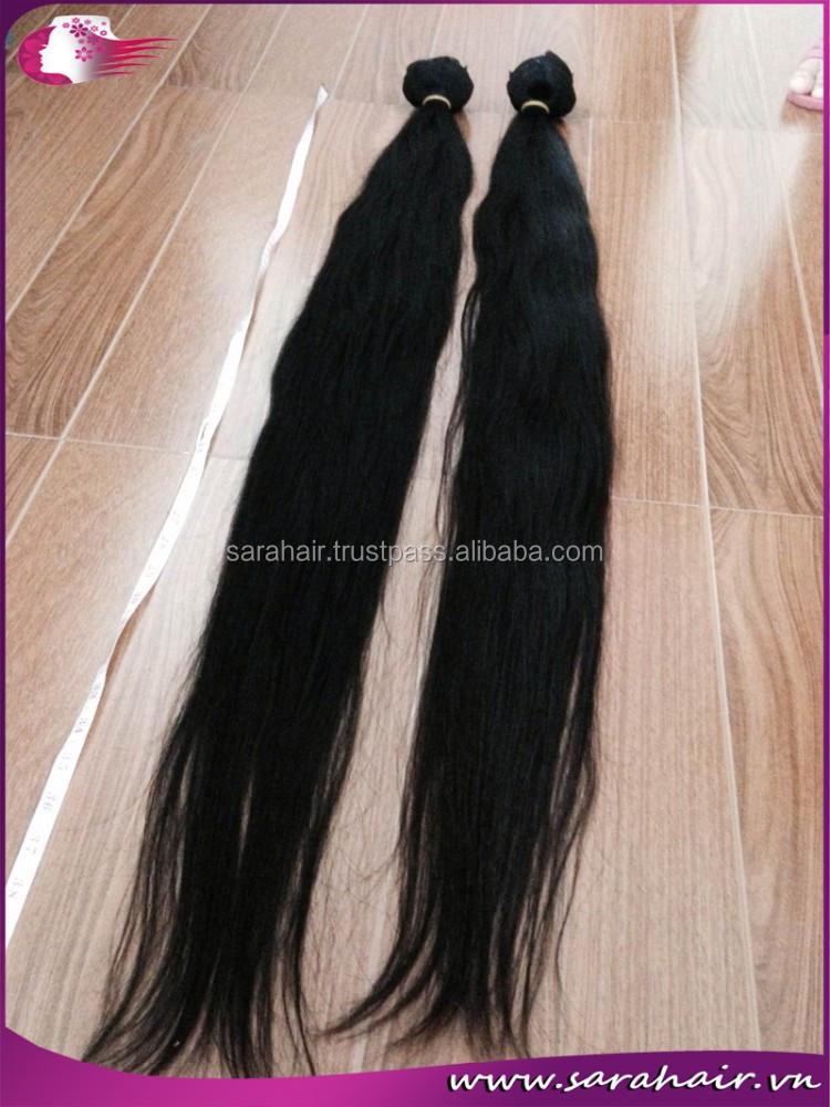 Black Pearl Virgin Hair Weave Natural Color Nature Straight 100