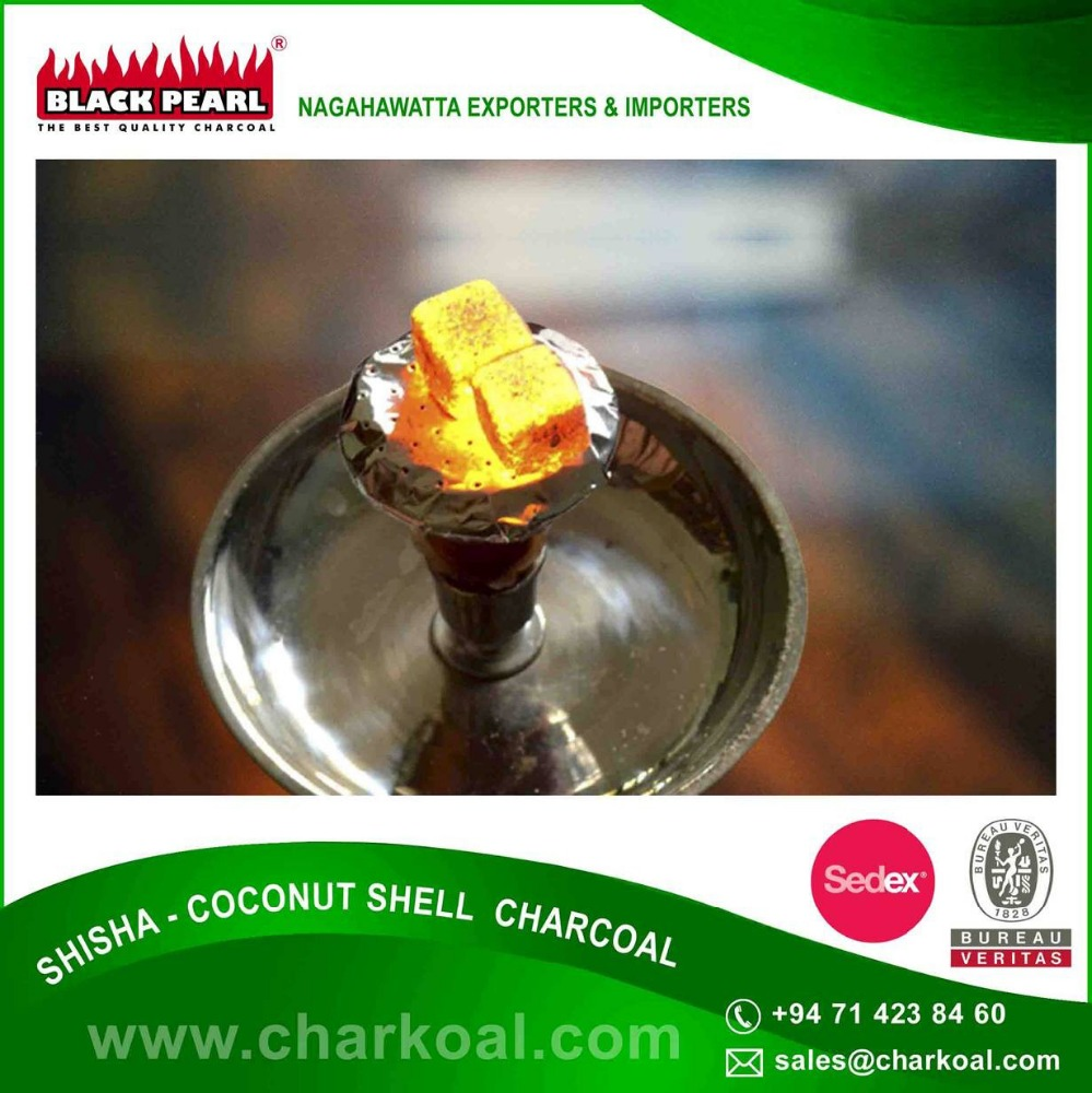 Private Label 100% Pure Shisha Coconut Shell Charcoal for Sale