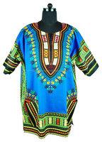 African Dashiki African Dresses Africa Clothing For Women Traditional African National Floral Print Cetak Dashiki Dress short