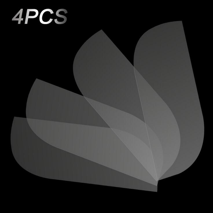 Бампер автомобиля Защитная Пленка 4 шт./компл. Мембраны Кожи Носорога Прозрачный Авто Краска Защитную Наклейку Анти Столкновения Автомобильная Пленка