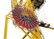 VAHLE Motorized Cable Reels for power supply to movable equipment for automatic winding of power or control cables
