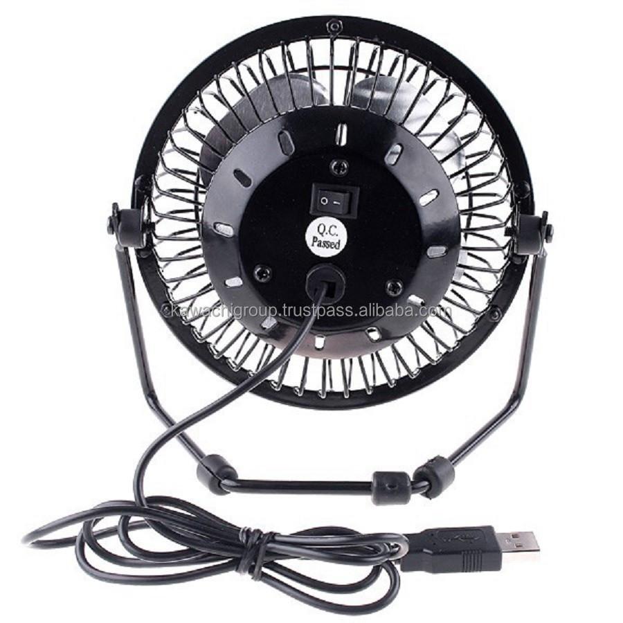 Usb ventilateur mini portable de refroidissement de bureau bureau calme ventilateur pour - Mini ventilateur de bureau ...