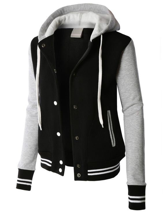 Hooded Baseball Jacket Hooded Baseball Jacket Suppliers and