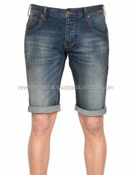Men's Denim Chino Shorts/stylish Men's Denim Chino Shorts/summer ...