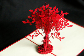 Vase of flower handmade pop up 3d card greeting card vietnam buy vase of flower handmade pop up 3d card greeting card vietnam m4hsunfo