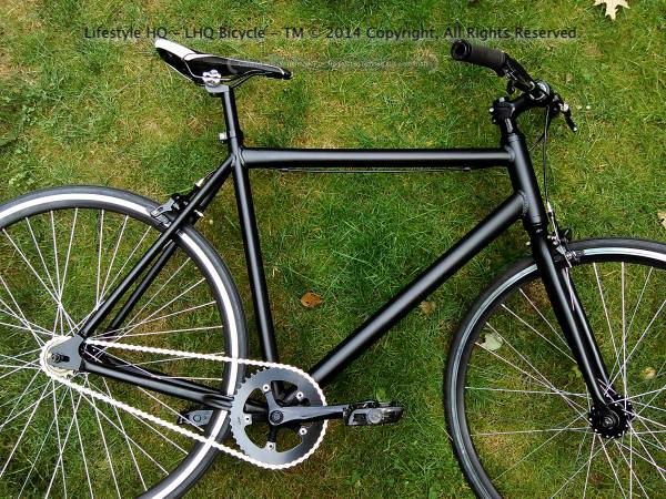 73592ccbfee Single Speed Road Bicycle - Aluminum Frame - Sealed Bearings - LHQ Bicycle  Components