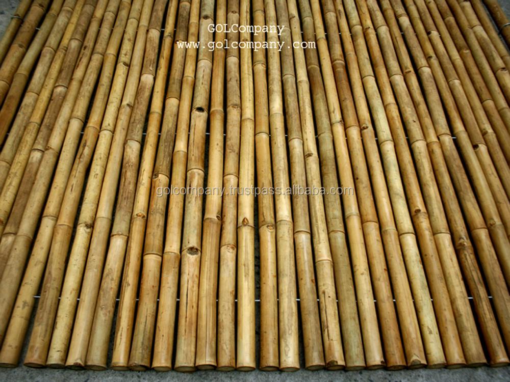All 39 ingrosso di bamb rivestimento murale proteggere il for Sol en bambou en rouleau