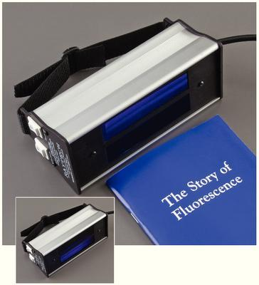 Broad Spectrum Dual-Tube Ultraviolet Lamp Ultra Violet Lamp, Broad Spectrum (Each)