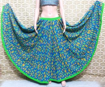 356fdbd9a00d6f Full Swing Long Traditional Rajasthani Kali Designer Skirt - Buy ...