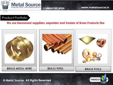 Aluminium Rod Suppliers - Brass Metal Products Dealer in India