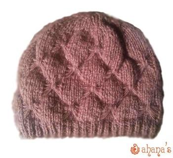 Nepal Hand Knitted Woolen Hat - Wl-034 - Buy Nepal Knit Hats ... d1957bec8f2