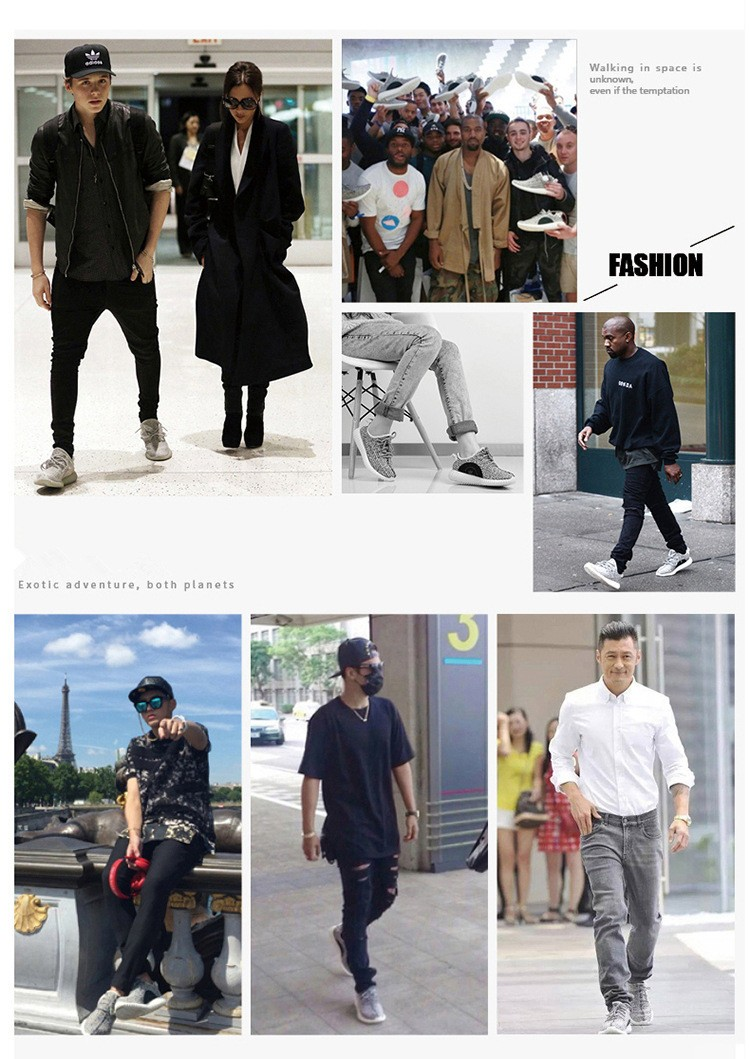 Fashion Loafers Men 2017 Spring Autumn Trend Cloth Fabric Casual