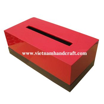 ベトナム漆器ティッシュペーパーボックスカバー buy product on