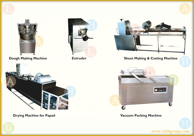 Papad Production Machines India