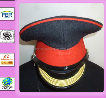 MILITARY PEAK CAP HOUSEHOLD CAVALRY FORAGE CAP SIZE 56CM BRITISH ARMY 4950704e422