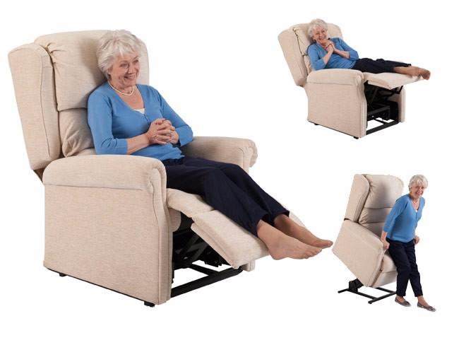 ไฟฟ้าเดี่ยว Vibrating Massager ยกเก้าอี้สำหรับผู้สูงอายุ