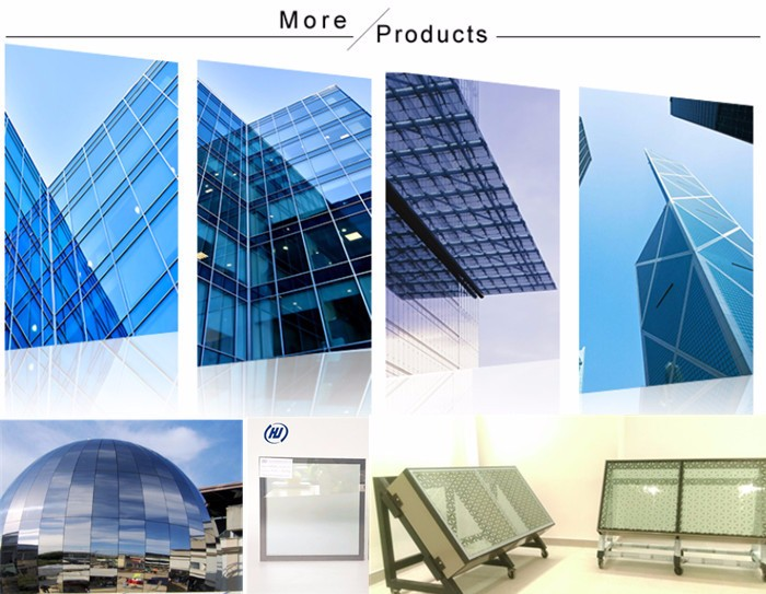 High Performance Glass Facade : High performance data low e double glazing insulated glass