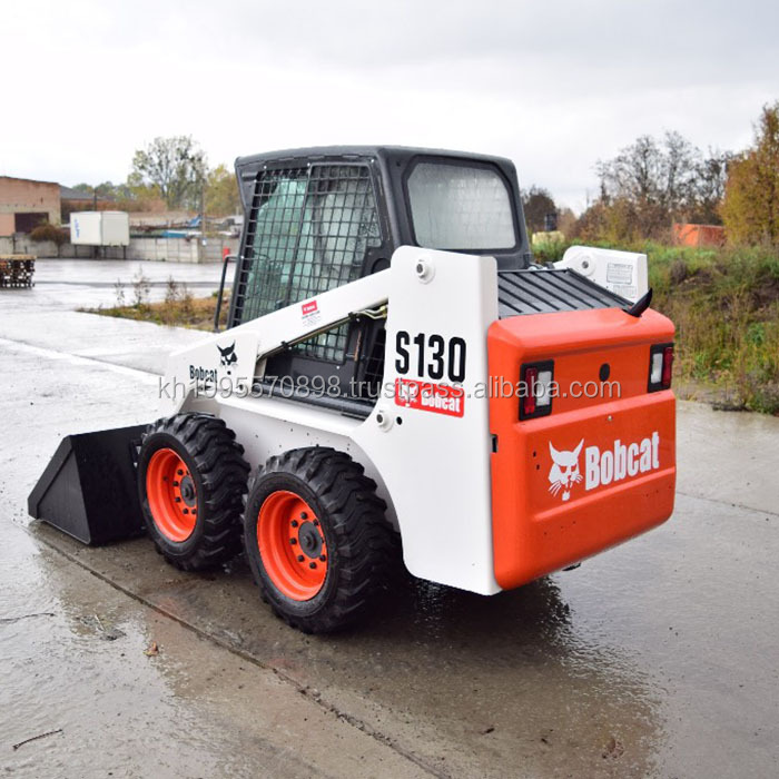 Bobcat s130 skid steer loader per la vendita, skid steer loader bobcat