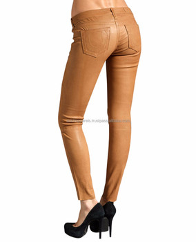 dbb870336e09 High Wasted Women's Faux Leather Stretch Leggings Skinny Pants,Ladies  Leather Motorbike Pants