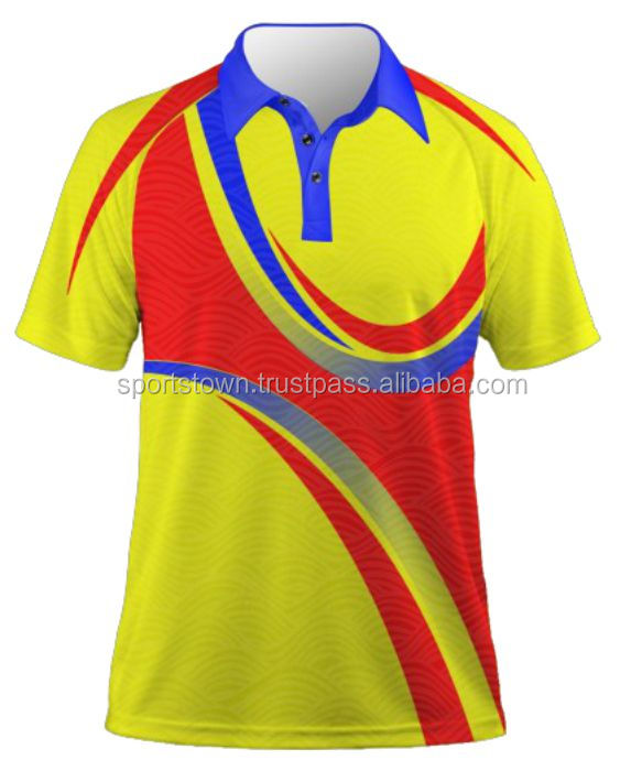 0374129ae Custom Dye Sublimation 65%polyester 35%cotton Polo Shirts Cheap ...
