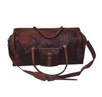 HANDMADE TRAVEL / LUGGAGE BAG Overnight Shoulder bag