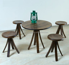 Exceptional Turkish Made Wooden Stool - Exceptional Design