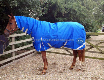 Winter Horse Rugs With Reflector Reflective Out And Fleece Lining Rug 600d Ripstop Poly Waterproof Sheet Turnout