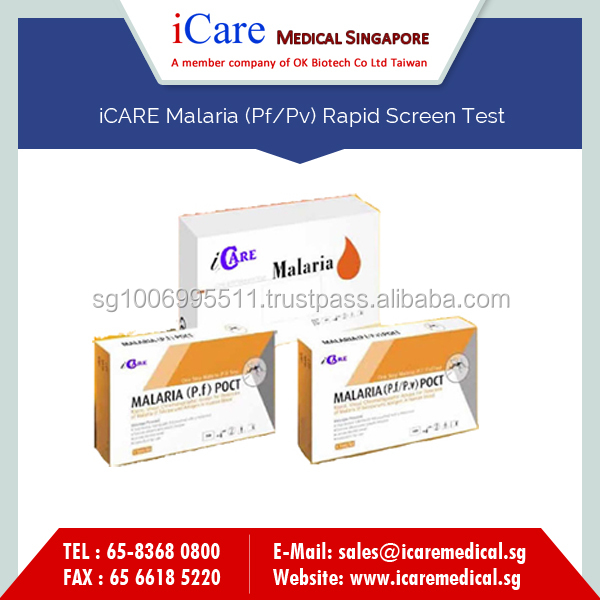 Hot Sale of Malaria Test Kit for Correct Detection of Infection in Comfort of Your Home