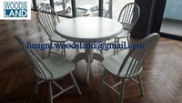 Modern furniture wood dining room set