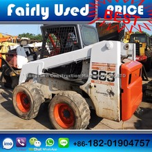 High quality used Bobcat 863 mini skid loader for sale