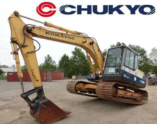 < SOLD OUT > CRAWLER EXCAVATOR USED KOMATSU PC100 -5 JAPANESE CONSTRUCTION MACHINERY FOR SALE