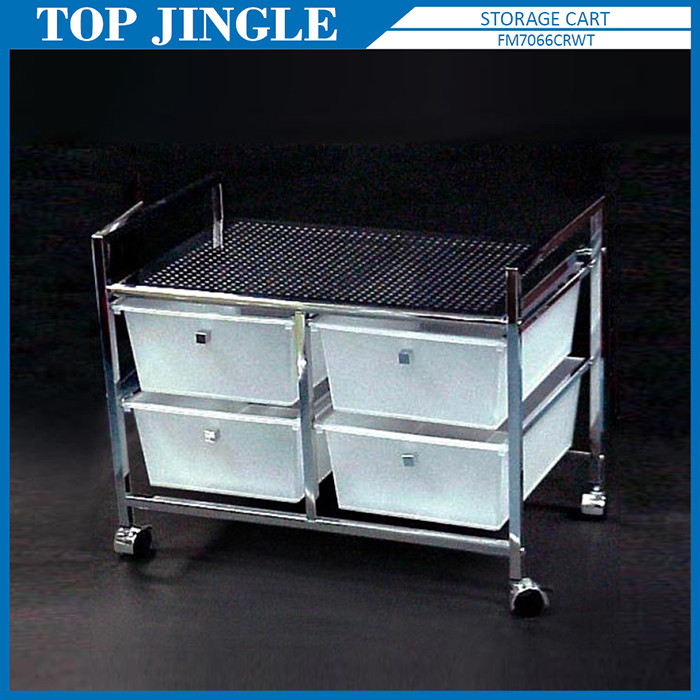 Top Jingle Licht Weiß Kunststoff 4 Schubladen Trolley - Buy Product ...