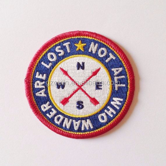 Embroidered badge Iron on Sew on Biker Patch Badge iron on clothes
