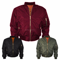 long style man bomber jacket men windbreaker
