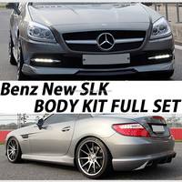 Benz New SLK Body Kit Set(Front Lip+Side Skirt+Rear Diffuser)