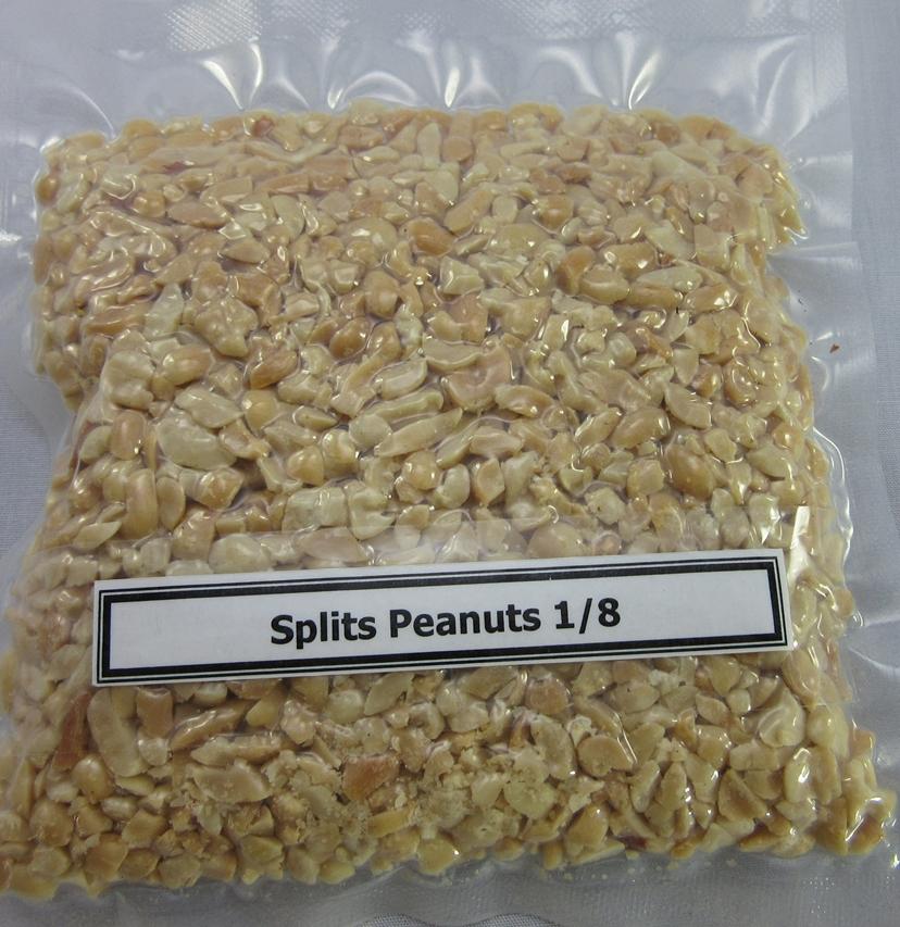 Roasted Split Peanuts 1/8