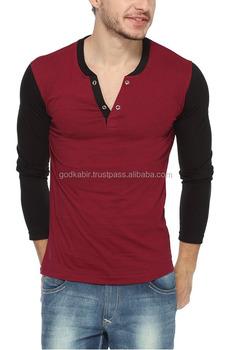 Beautiful Men Vneck Full Sleeve T Shirt