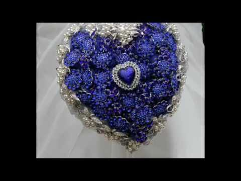 Brooch Bouquets Inspired by The Titanic Brooch