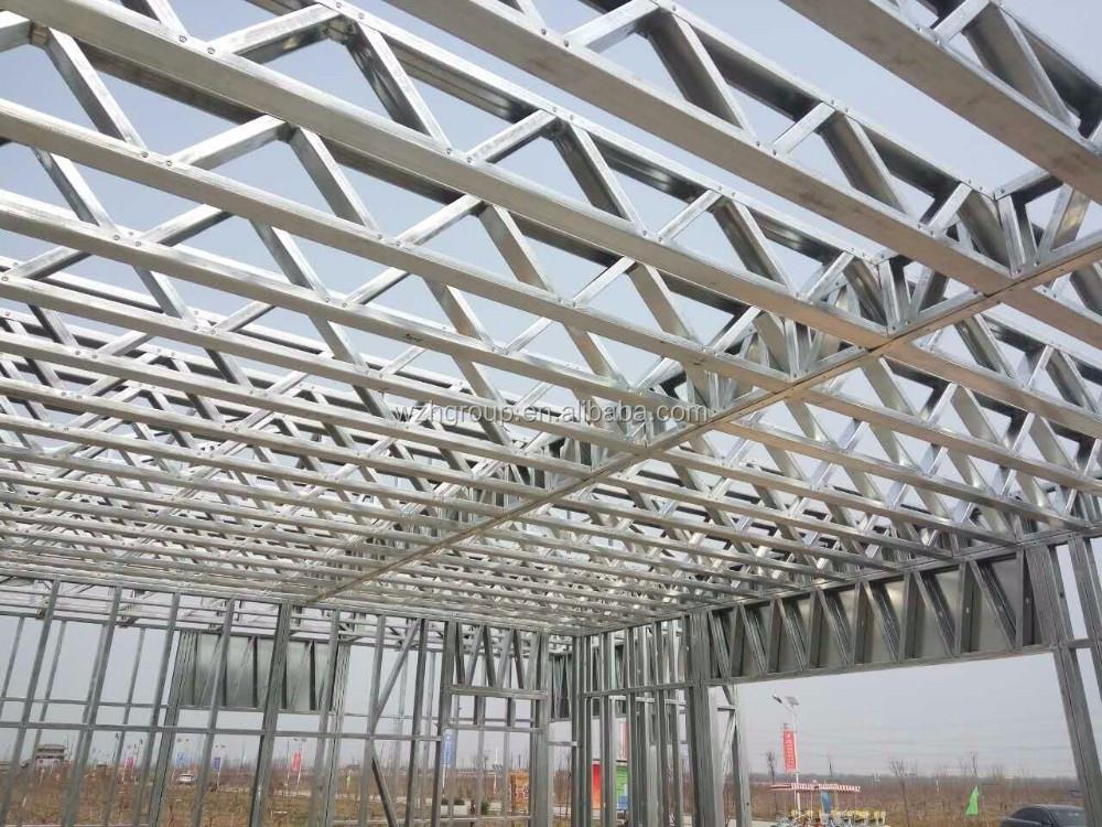 Licht Stahlrahmen Wand Stahlkonstruktion Vorhang Wand Stahl ...