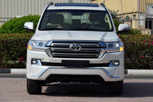 2017 MODEL TOYOTA LAND CRUISER 200 GXR V6 4.0L AUTOMATIC TAX FREE VEHICLES EXPORT FROM DUBAI