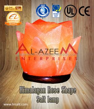 Best Himalayan Rose Flower Shape Salt Lamp Buy Himalayan Decoration Salt Lamp Rock Salt Lamps Salt Lamps Product On Alibaba Com