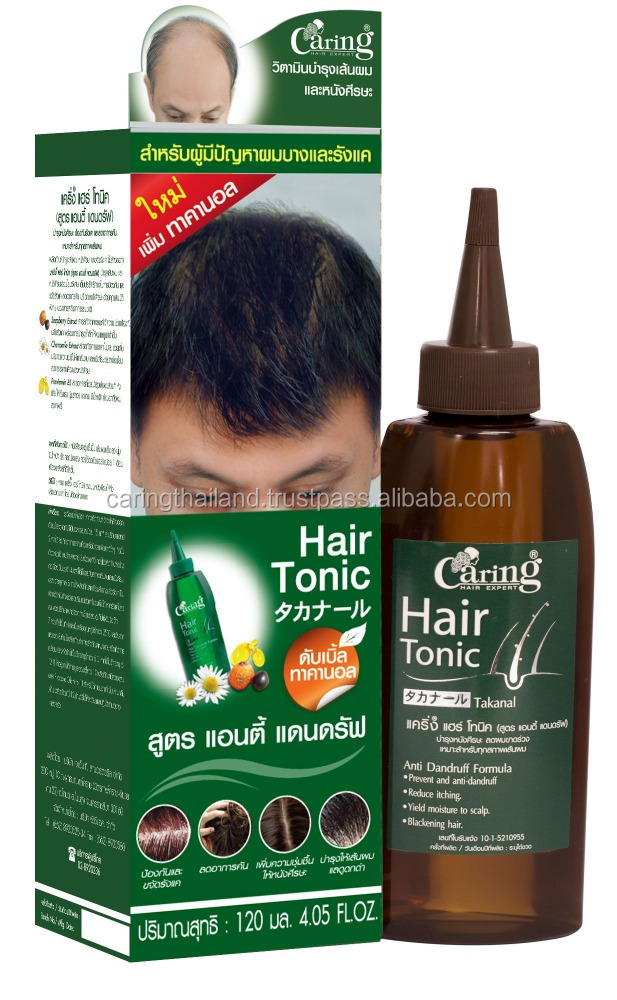 Caring Hair Tonic Anti Dandruff