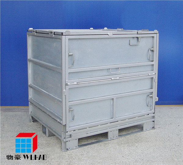 metal collapsible chemical tote ibc tank ibc bulk container