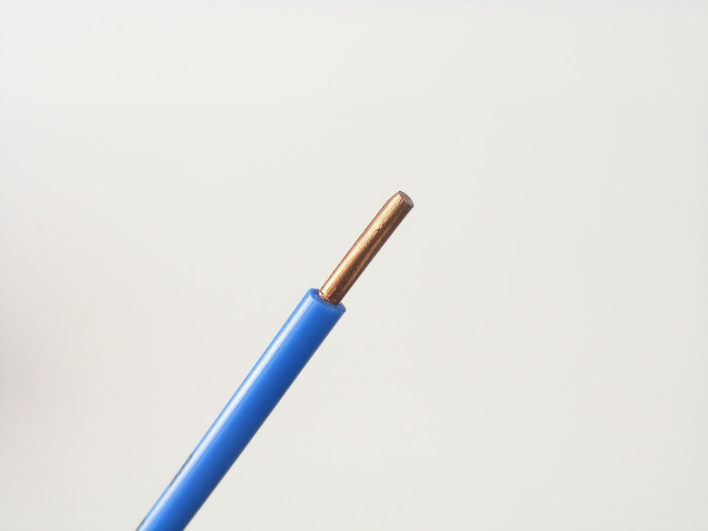 Pvc Insulated Solid Copper Conductor Electric Wire - Buy Copper Wire ...