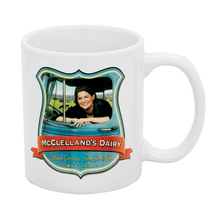 Full Color Sublimation 11 oz Ceramic Mug - comes with your full color print sublimated logo or design