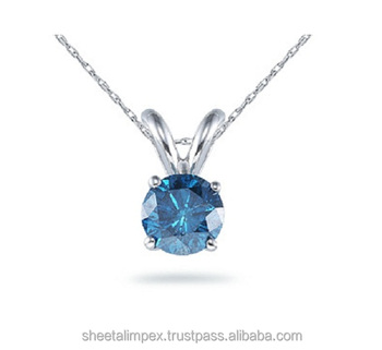 100 Original 0 60 Cts Si1 Clarity Solitaire Real Blue Diamonds Pendant 14kt White Gold At Best Offer Price Buy Diamond Solitaire Pendant 14k White Gold Pendant Round Cut Diamond Pendant Product On Alibaba Com