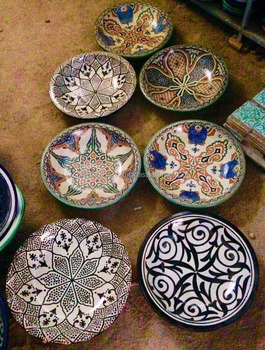 Hand-painted ceramic plates & Hand-painted Ceramic Plates - Buy Cheap Ceramic PlatesMoroccan ...