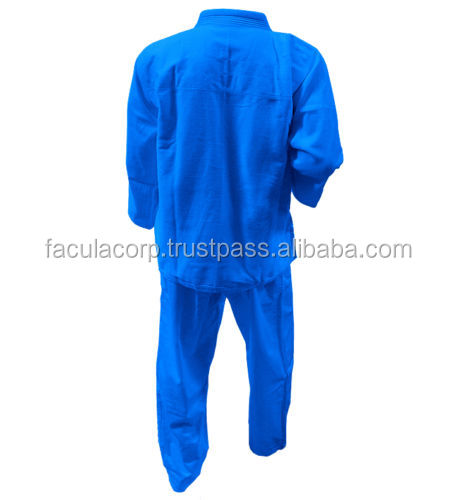 Blue Judo Uniforms Brazilian Jiujitsu BJJ Gis Uniforms, Kimonos Ninja Karate Suits, Martial Arts FC-537