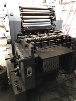 Single Color Heidelberg Gto 52 Offset Printing Machine - Buy ...