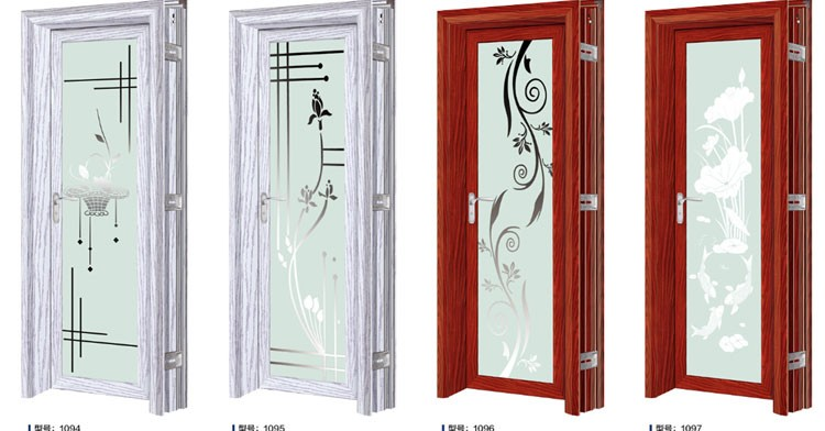 Bathroom Doors modern aluminium bathroom doors and window aluminum frame glass